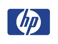 hp logo blue